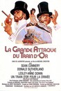 Affiche La Grande attaque du train d'or